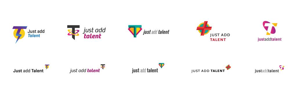 Just Add Talent Logo Exploration