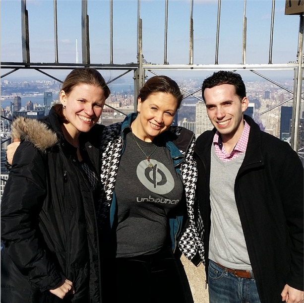 Unbounce & Shutterstock in NYC