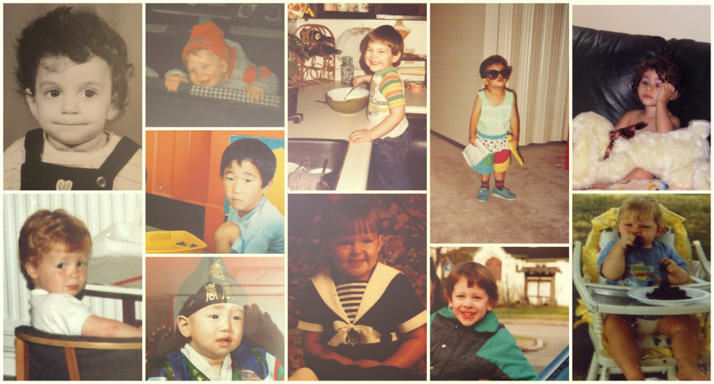 baby collage