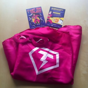 Superhero Agency Goodies