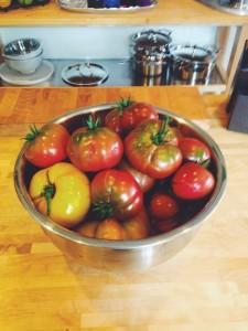 Tomatoes from my garden last season