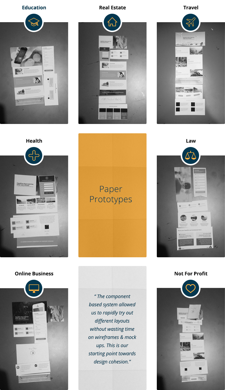unbounce-paper-prototypes